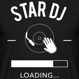 star dj loading - Männer T-Shirt