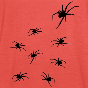 Spiders, Spider Horror Tops - Vrouwen tank top van Bella