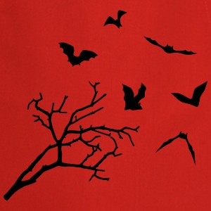 Bats & Tree, Bat Horror Tabliers - Tablier de cuisine