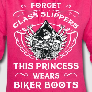 Forget glass slippers - Princess with Biker Boots Pullover & Hoodies - Hoodie-Kleid