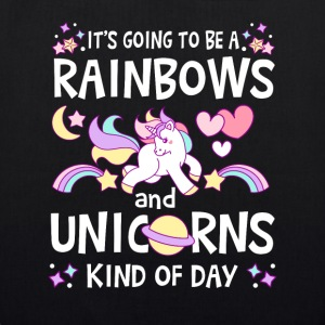 It's going to be Rainbows and Unicorns kind of day Bags & Backpacks - EarthPositive Tote Bag