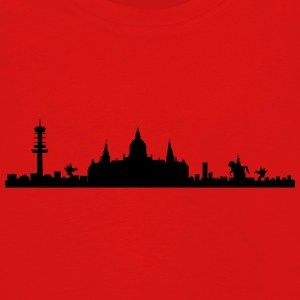 Hanover skyline - silhouette - Lower Saxony Long Sleeve Shirts - Kids' Premium Longsleeve Shirt