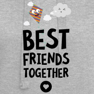 Kite and Cloud Best friends Heart S6fhh Hoodies & Sweatshirts - Hoodie Dress