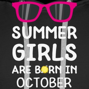 Summer Girls in OCTOBER S1j90 Hoodies & Sweatshirts - Men's Premium Hoodie
