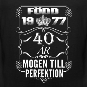 1977-40 years perfection - 2017 - SE Sports wear - Men's Premium Tank Top