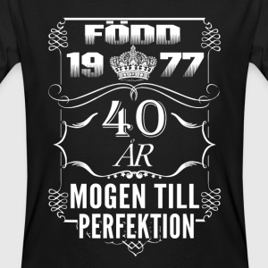 1977-40 years perfection - 2017 - SE T-Shirts - Men's Organic T-shirt
