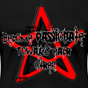 Magic Spell Zauber Spruch Pentagramm, Hexe Witch T-Shirts - Frauen Premium T-Shirt