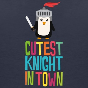 Cutest Penguin Knight Syi82 T-Shirts - Women's Organic V-Neck T-Shirt by Stanley & Stella