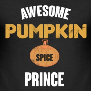 Awesome Pumpkin Spice Prince T-Shirts - Men's Slim Fit T-Shirt