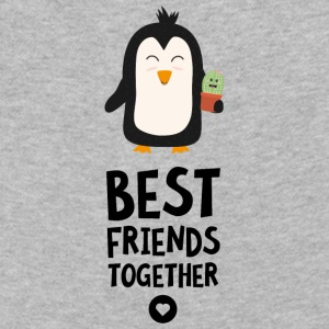 Penguin and Cactus Best friends Heart Sqqpv Long Sleeve Shirts - Kids' Premium Longsleeve Shirt