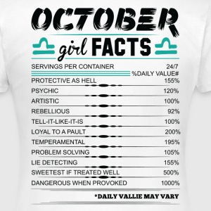 October Girl Facts Libra T-Shirts - Women's T-Shirt