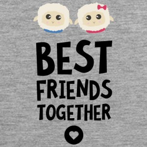 Sheeps Best Friends Herz S2fy6 Sportbekleidung - Männer Premium Tank Top