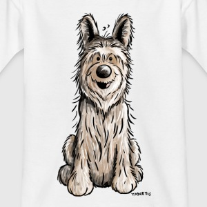 Berger Picard - Hund - Dog -,Comic T-Shirts - Kinder T-Shirt