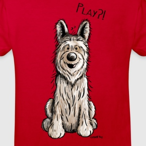 Happy Berger Picard - Hund - Dog T-Shirts - Kinder Bio-T-Shirt