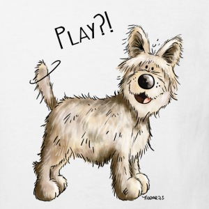 Play Berger Picard - Hund - Dog - Comic T-Shirts - Kinder Bio-T-Shirt