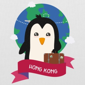 Penguin Globetrotter from HONG KONG Soh1f2 Bags & Backpacks - Tote Bag