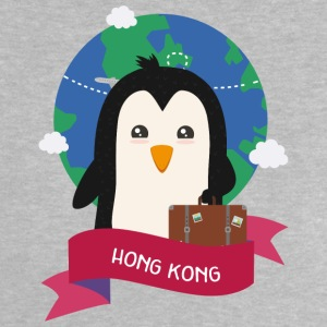 Penguin Globetrotter from HONG KONG Soh1f2 Shirts - Baby T-Shirt