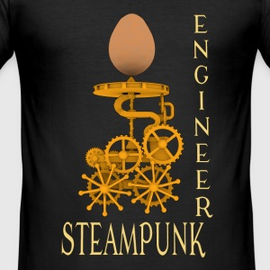 Steampunk Engineer - Tee shirt près du corps Homme