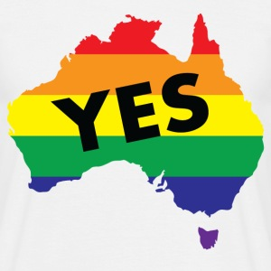 Vote Yes Australia T-Shirts - Men's T-Shirt
