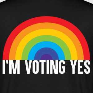 I Am Voting Yes T-Shirts - Men's T-Shirt