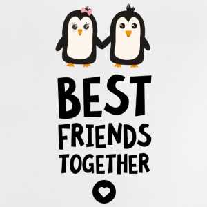 Penguin Best friends Heart Sfuls Shirts - Baby T-Shirt