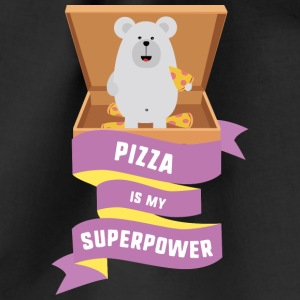 Pizza is my Superpower S1a6g Bags & Backpacks - Drawstring Bag