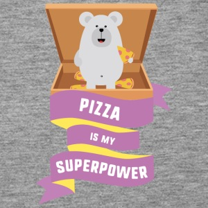 Pizza is my Superpower S1a6g Tops - Women's Premium Tank Top