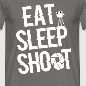 Photography - Eat, sleep, shoot - Men's T-Shirt