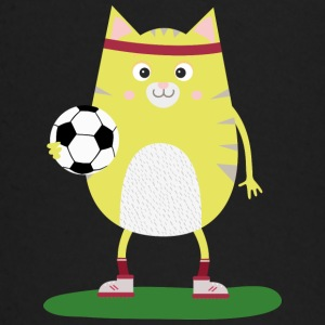 Soccer Cat with Ball Ssabs Long Sleeve Shirts - Baby Long Sleeve T-Shirt