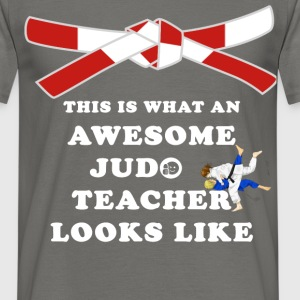 Judo Teacher - This is what an awesome judo  - Men's T-Shirt