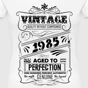 Vintage Aged To Perfection 1985 T-Shirts - Women's Premium T-Shirt