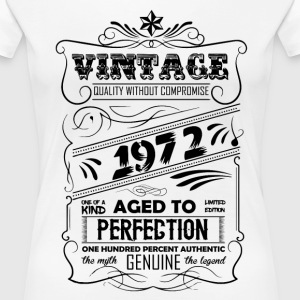 Vintage Aged To Perfection 1972 T-Shirts - Women's Premium T-Shirt