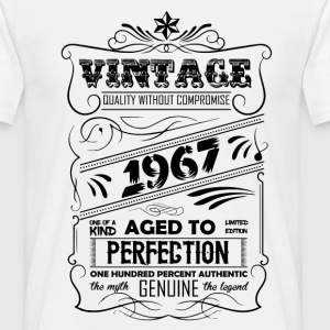 Vintage Aged To Perfection 1967 T-Shirts - Men's T-Shirt