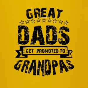 Great dads get promoted to grandpas Tassen & Zubehör - Tasse einfarbig
