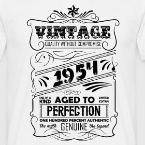 Vintage Aged To Perfection 1954 T-Shirts - Men's T-Shirt
