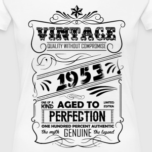 Vintage Aged To Perfection 1953 T-Shirts - Women's Premium T-Shirt