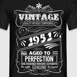Vintage Aged To Perfection 1951 T-Shirts - Men's T-Shirt