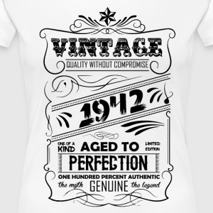 Vintage Aged To Perfection 1942 T-Shirts - Women's Premium T-Shirt