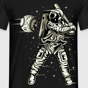 Space Baseball Astronaut - Men's T-Shirt