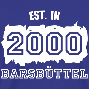 Established 2000 Barsbüttel T-Shirts - Männer Premium T-Shirt