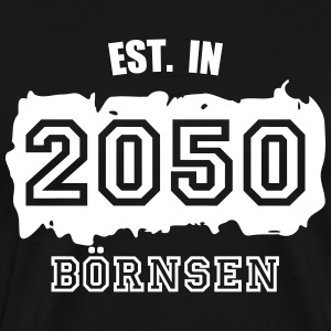Established 2050 Börnsen T-Shirts - Männer Premium T-Shirt
