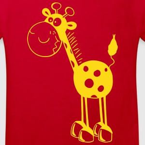 Drollige Giraffe - Giraffen - Cartoon - Fun T-Shirts - Kinder Bio-T-Shirt