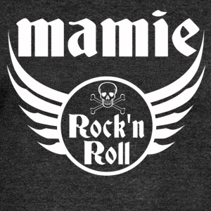 Mamie Rock and roll Sweat-shirts - Pull Femme col bateau de Bella