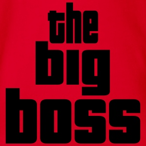 the big boss design Bodys Bébés - Body bébé bio manches courtes
