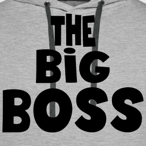 the big boss Sweat-shirts - Sweat-shirt à capuche Premium pour hommes