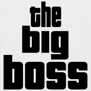 the big boss design Tee shirts - T-shirt baseball manches courtes Homme