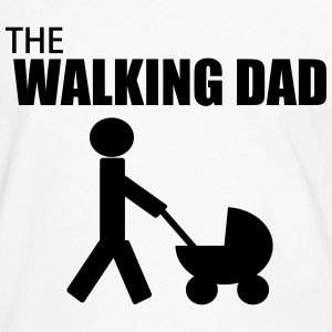 the walking dad Tee shirts - T-shirt contraste Homme