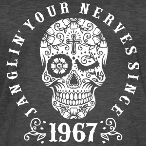 Janglin your nerves since 1967 - weiß T-Shirts - Männer Vintage T-Shirt