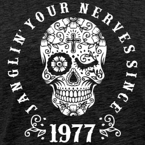 Janglin your nerves since 1977 - weiß T-Shirts - Männer Premium T-Shirt