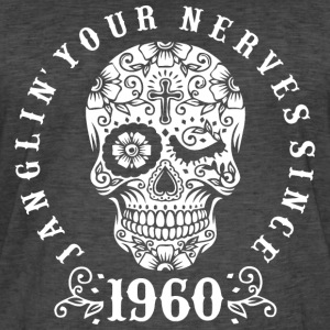 Janglin your nerves since 1960 - weiß T-Shirts - Männer Vintage T-Shirt